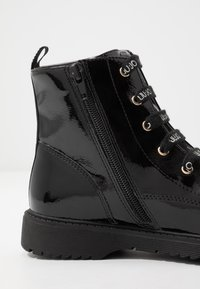 LIU JO - Bottines à lacets - black - 5