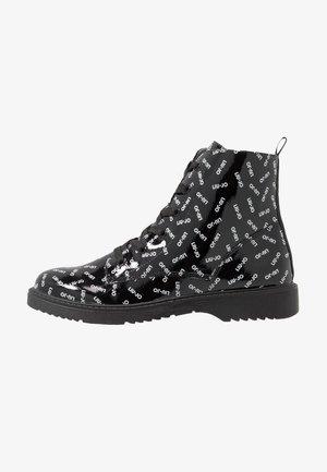 PAT BIKERS - Lace-up ankle boots - black