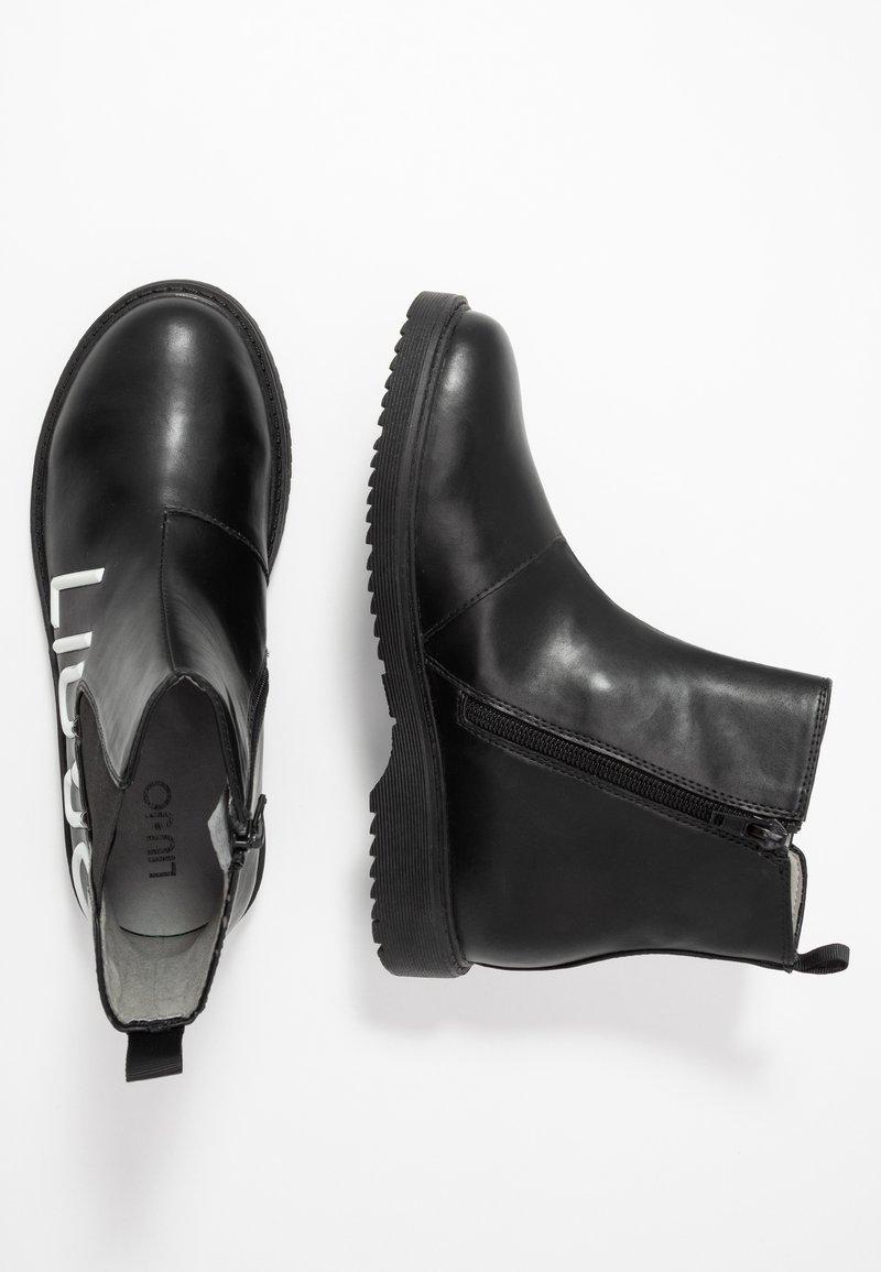 LIU JO - PAT BEATLES - Kotníkové boty - black