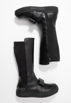 SARAH BOOT - Boots - black