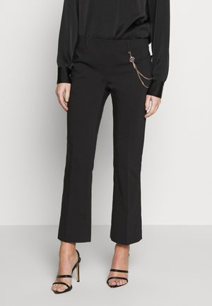 PANT MICRO FLAIR - Pantalon classique - nero