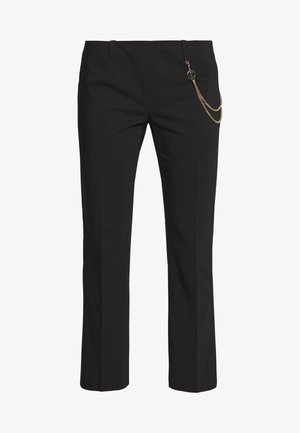 PANT MICRO FLAIR - Trousers - nero