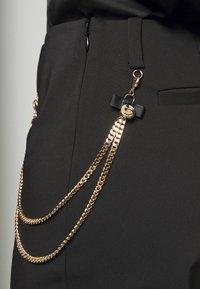 LIU JO - PANT MICRO FLAIR - Pantalon classique - nero - 5