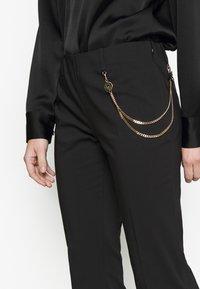 LIU JO - PANT MICRO FLAIR - Pantalon classique - nero - 3