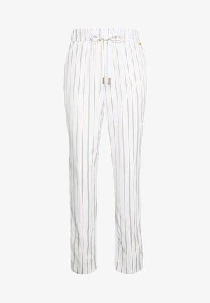 PANT JOGGING - Trousers - star white/brass gol