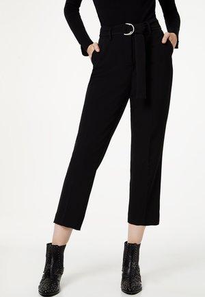 LIU JO JEANS - Pantalon classique - black