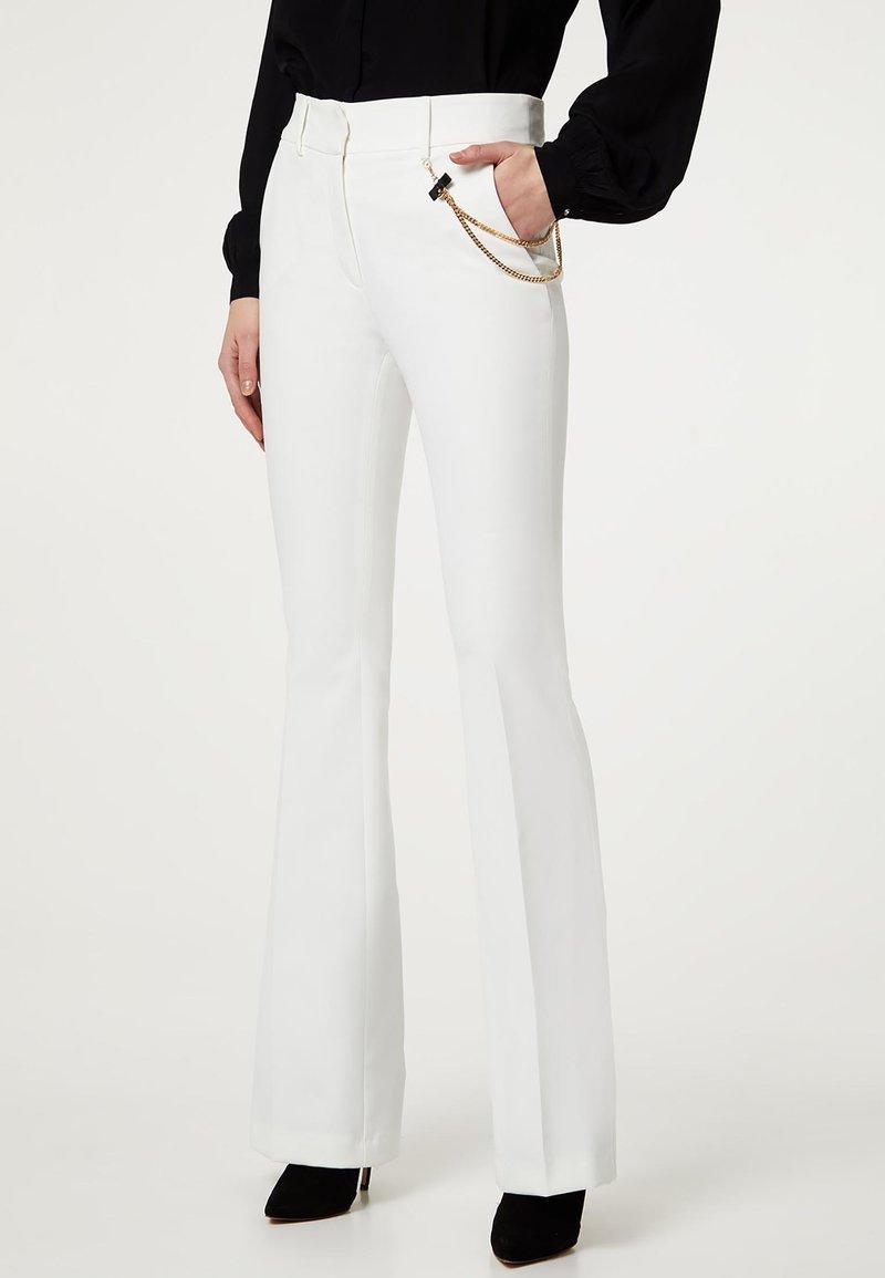 LIU JO - Trousers - white