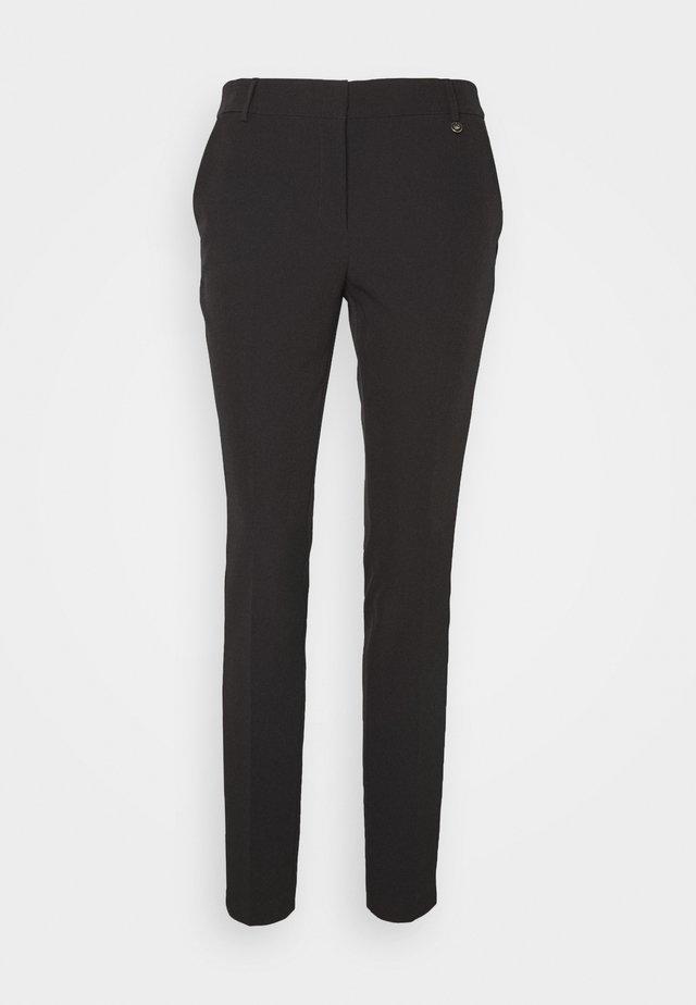 PANT CIGARETTE - Spodnie materiałowe - nero
