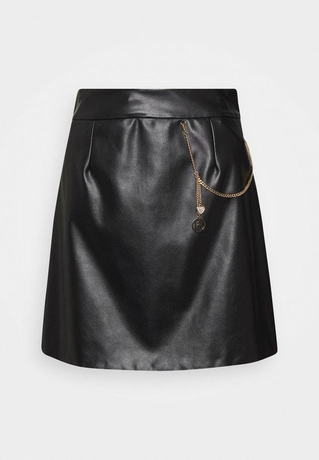 GONNA - A-line skirt - nero