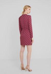 LIU JO - ABITO  - Jersey dress - ruby wine monogram - 2