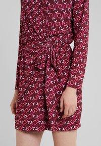 LIU JO - ABITO  - Jersey dress - ruby wine monogram - 3
