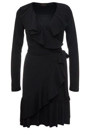 ABITO VOLANT - Jerseyklänning - nero