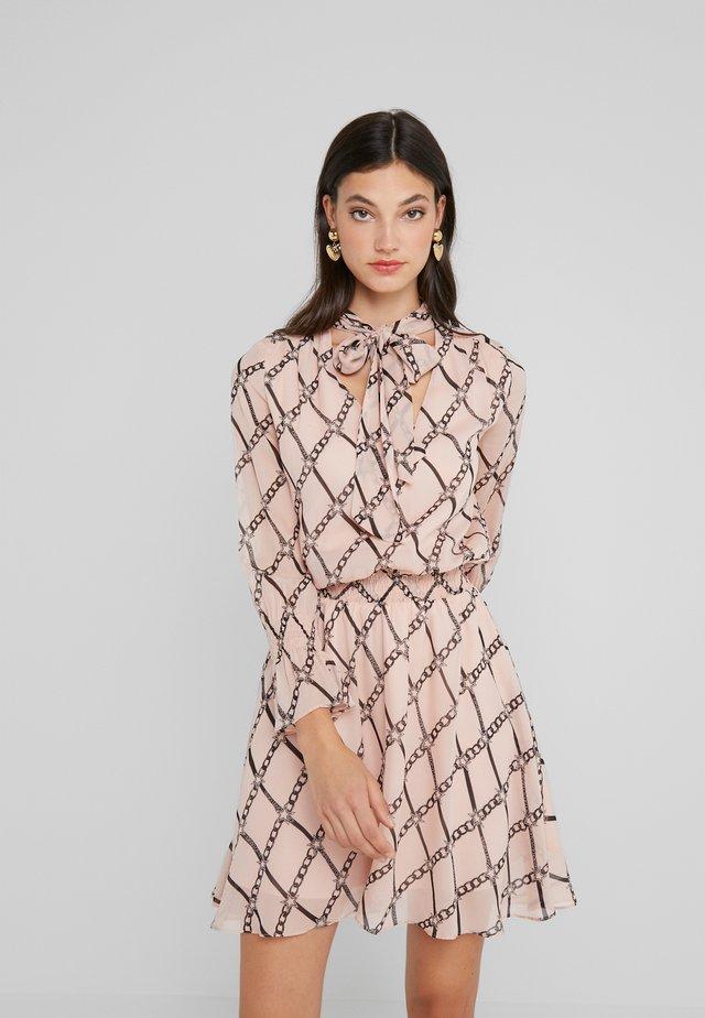 ABITO - Korte jurk - nude