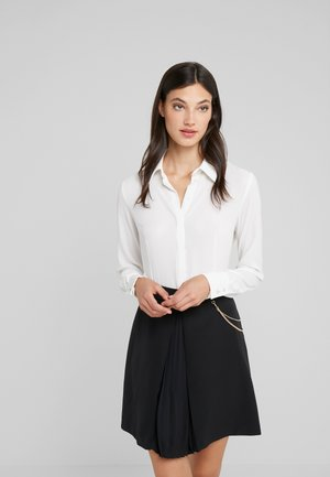 ABITO ALL IN ONE - Shirt dress - star white/nero