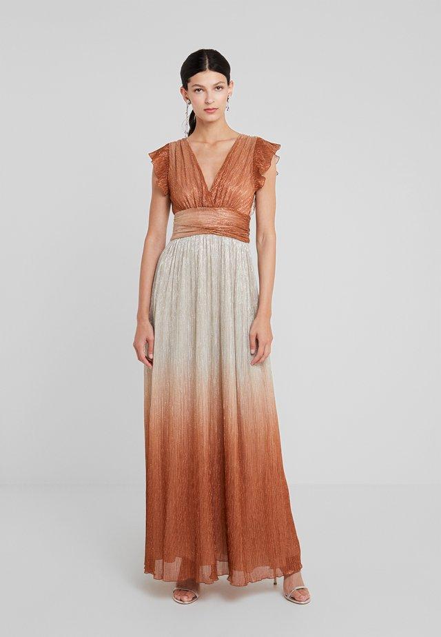 ABITO - Společenské šaty - bronze/platino