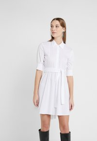 LIU JO - ABITO - Shirt dress - star white - 0