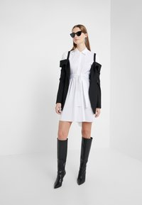 LIU JO - ABITO - Shirt dress - star white - 1