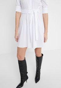 LIU JO - ABITO - Shirt dress - star white - 3