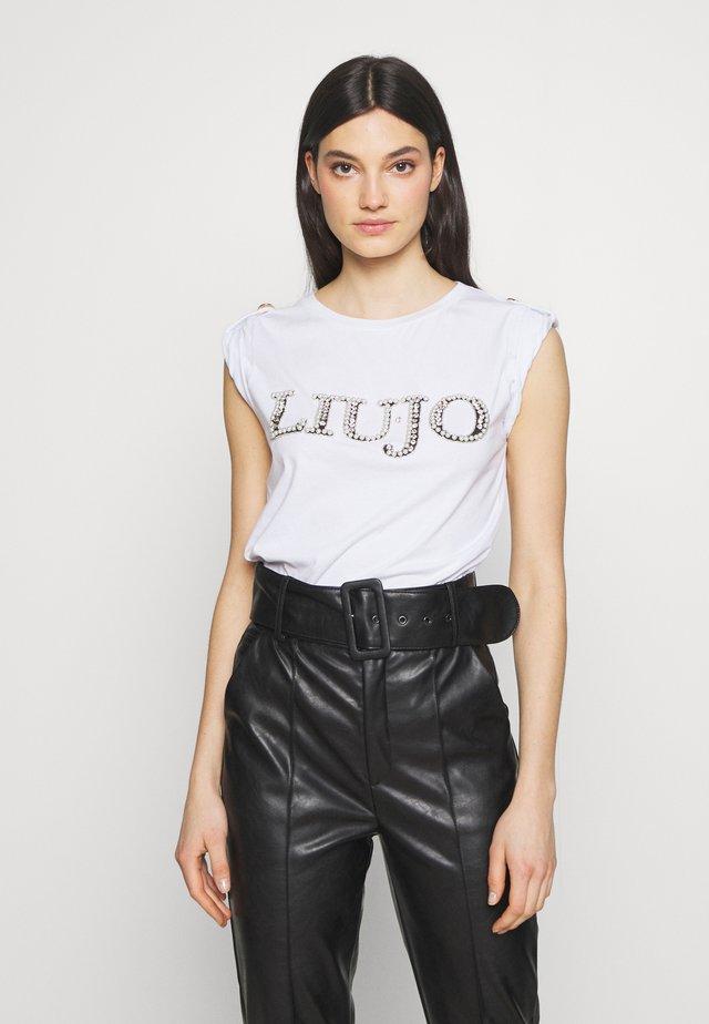 T-shirts print - bianco ottico