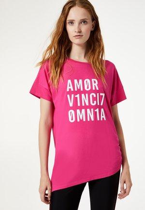 LIU JO KIDS - T-shirt con stampa - pink