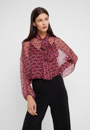 BLUSA - Blouse - ruby wine