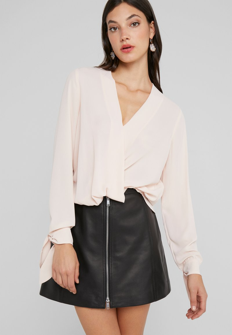 LIU JO - BLUSA INCROCIATA - Blouse - pearl rose