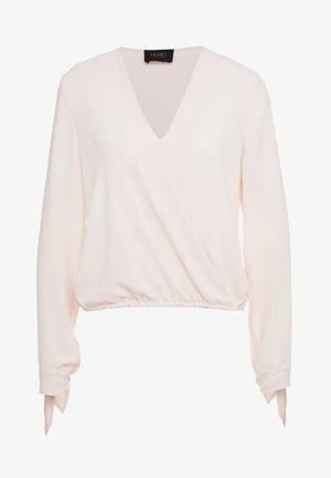 BLUSA INCROCIATA - Blus - pearl rose