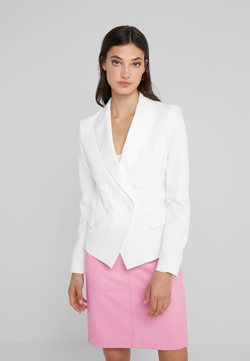 LIU JO - GIACCA - Blazer - light white milk