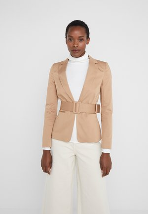 GIACCA DAILY CINTURA - Blazer - biscuit cookie
