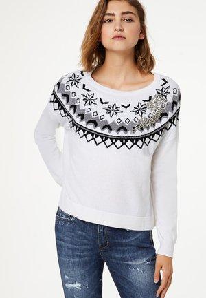LIU JO JEANS - Pullover - white