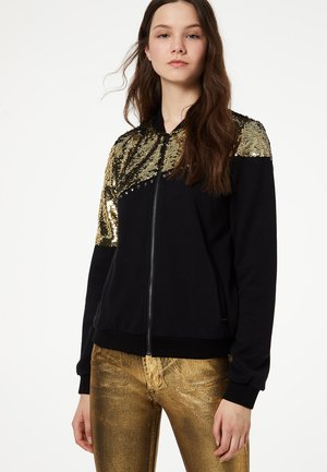 LIU JO JEANS - veste en sweat zippée - black