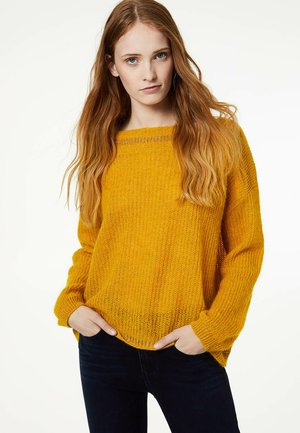 OPENWORK  - Sweter - yellow