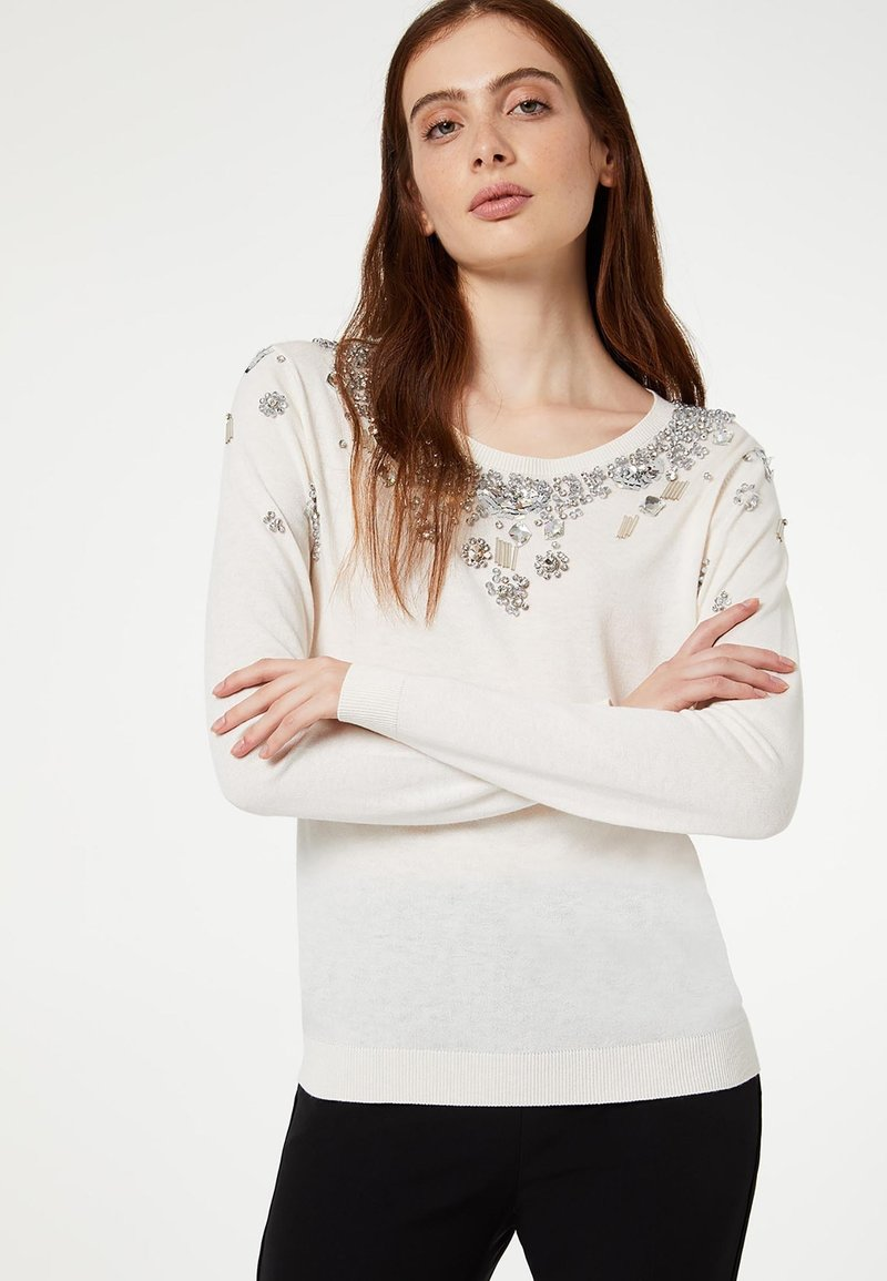 LIU JO - Sweter - white