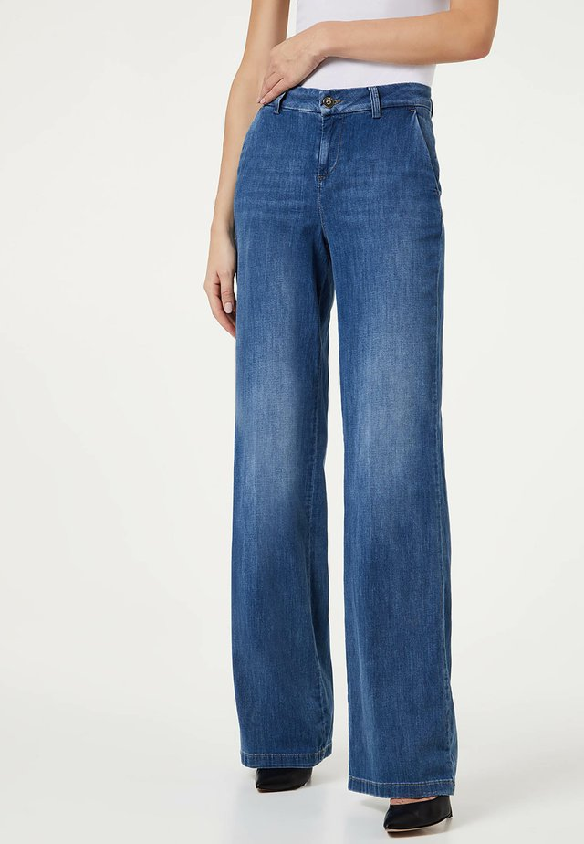 PALAZZO - Relaxed fit jeans - blue