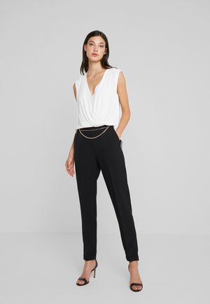 TUTA - Jumpsuit - star white/nero