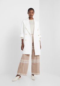 LIU JO - TRENCH - Gabardina - star white - 1