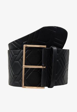 CINTURA BUSTINO - Waist belt - black