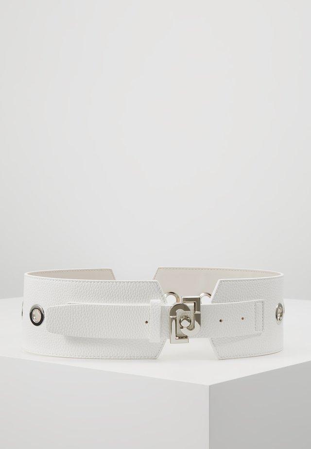 BUSTINO EYELET - Taljebælter - white