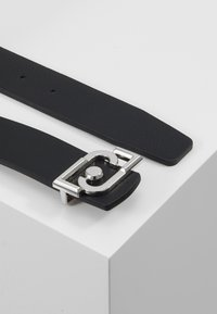 LIU JO - CINTURA REVERSIBILE H LOGO - Belt - black - 2