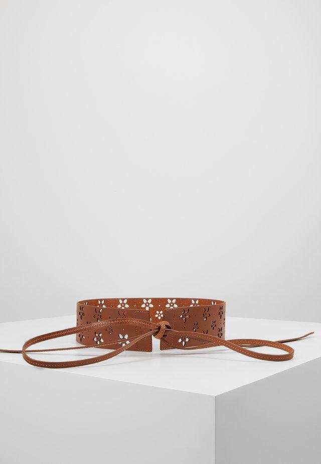 WAIST BELT - Waist belt - cognac