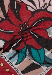 LIU JO - FOULARD FLOWERZEBRA FEEL ROUGE - Foulard - red - 2