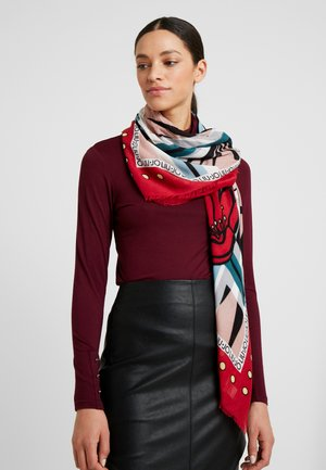 FOULARD FLOWERZEBRA FEEL ROUGE - Halsdoek - red