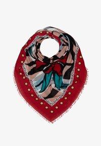 LIU JO - FOULARD FLOWERZEBRA FEEL ROUGE - Foulard - red - 1
