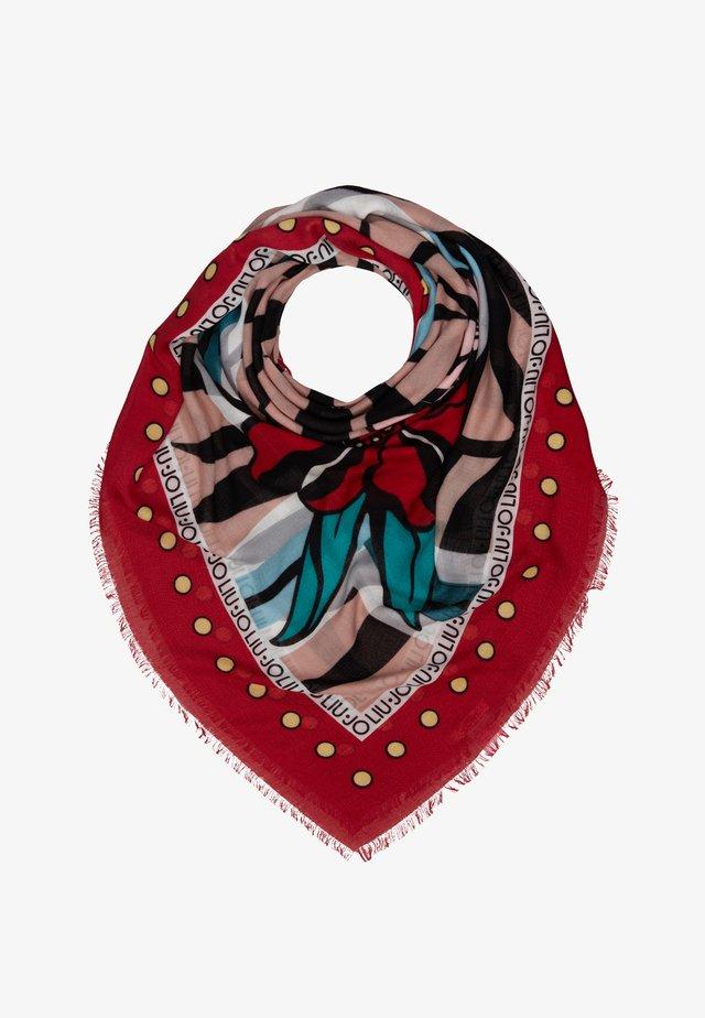 FOULARD FLOWERZEBRA FEEL ROUGE - Tørklæde / Halstørklæder - red