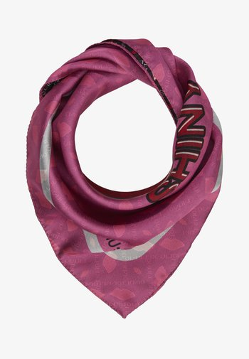 FOULARD POP FACE DOUBLE BOUCHE