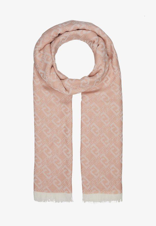 JACQUARD LOGO CAMEO - Sjal / Tørklæder - rose