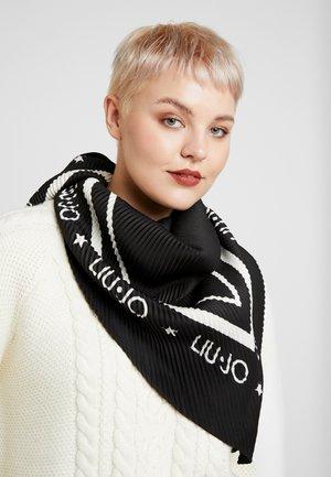 FOULARD PLISSE - Šátek - black
