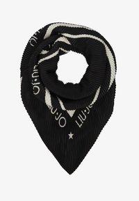 LIU JO - FOULARD PLISSE - Foulard - black - 1