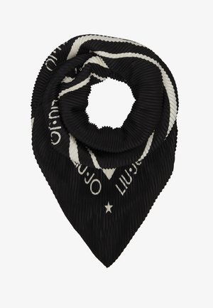 FOULARD PLISSE - Foulard - black