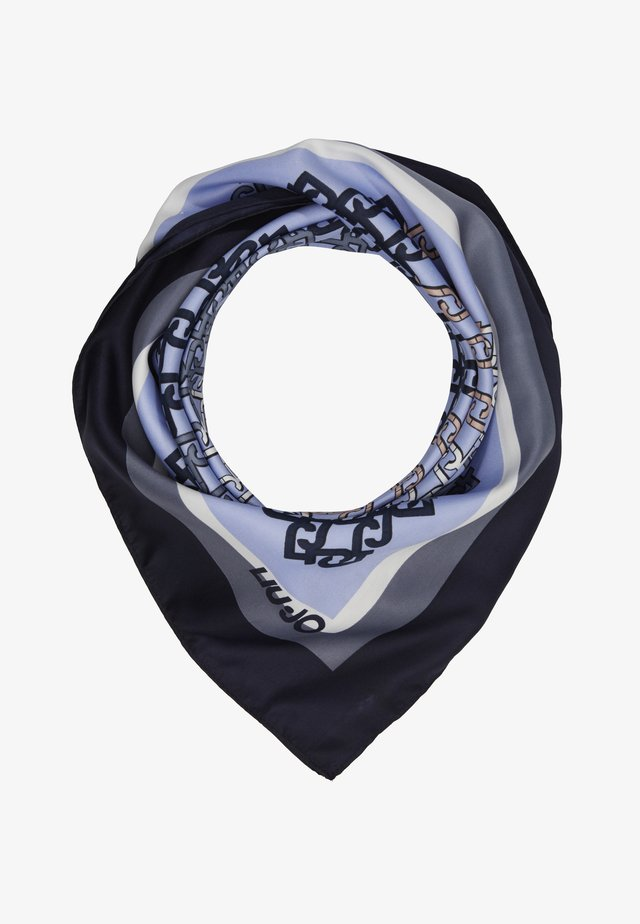 LOGO STRIPE - Tørklæde / Halstørklæder - navy